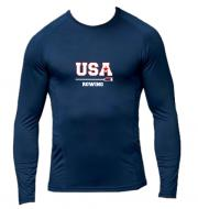 TEE SHIRT DOUBLE PEAU USA