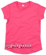 TEE SHIRT FILLE PERSONNAGES